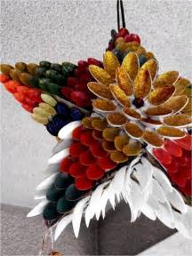 Home Decor Made From Recycled Materials How To Recycle Cool Recycled Christmas Lanterns