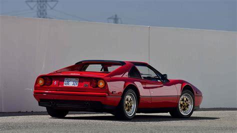 Ferrari F112 by 1987 Ferrari 328 Gts F112 Monterey 2015