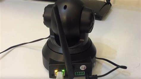 configurare ip wireless videocamera ip wifi sorveglianza android iphone pc