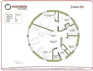 Floor Plans For Round Homes Mandala Round Homes Floor Plans Round House Floor Plans