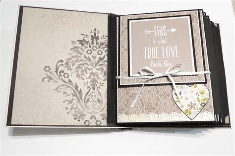 Wedding Album Scrapbook Ideas by Wedding Scrapbook Album