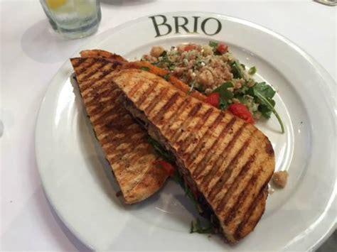 brio birmingham al veggie panini picture of brio tuscan grille birmingham