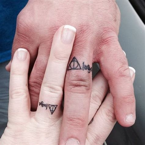 tattoo name wedding bands 40 sweet meaningful wedding ring tattoos