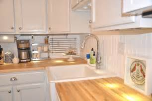 decor tips cool wooden countertops and farmhouse sink
