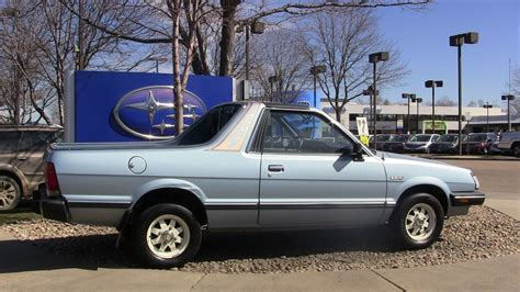 subaru brat photo of the day what a nice subaru brat the fast lane