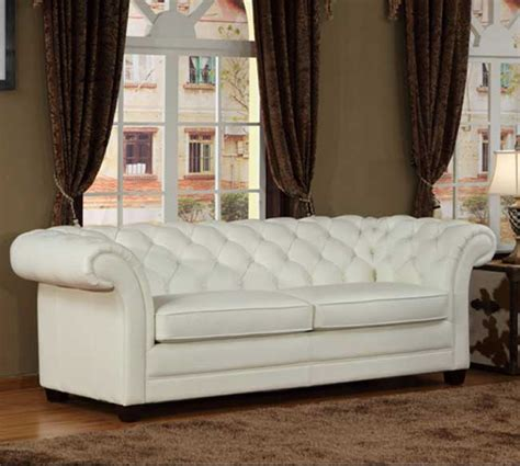 White Chesterfield Sofa Chesterfield White Leather Sofa Magnificent White Leather Chesterfield Sofa Thesofa