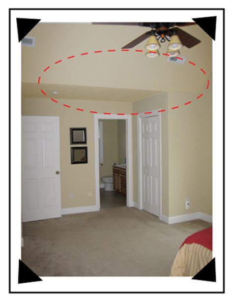 ceilings how to paint sloped ceilings color s
