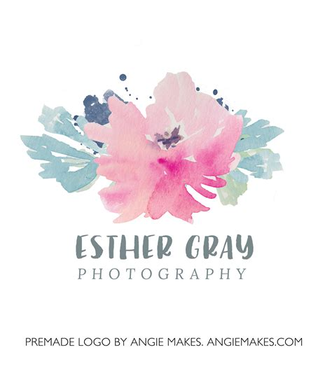 Modern Home Design Ideas by Watercolor Floral Logo