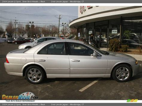 Black And Silver Ls by 2004 Lincoln Ls Sport Silver Birch Metallic Black Photo