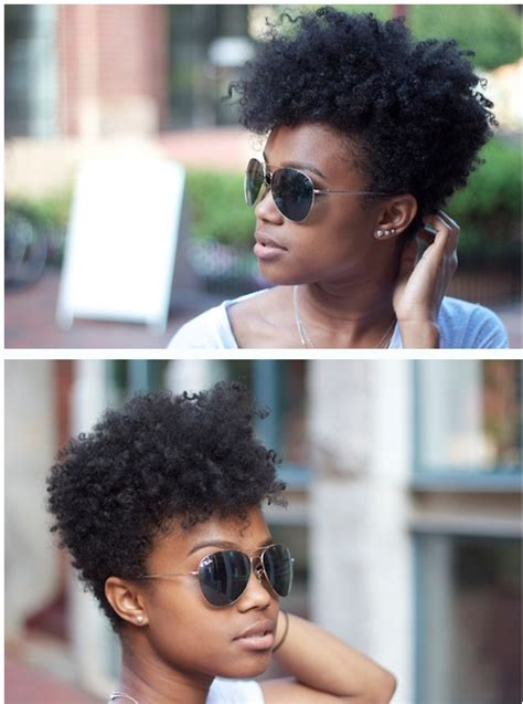tapered natural hairstyles for black women tapered natural hair hairstyle for black women