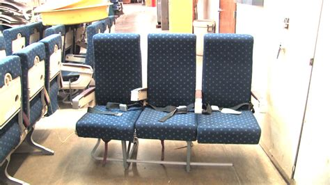 couch class set of triple economy class seats for sale used airline