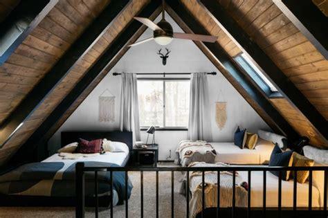 1970s a frame cabin transformed into light filled modern