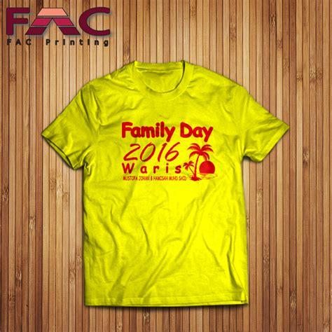 design baju untuk family day gambar cetakan tshirt design sendiri diterima baju family