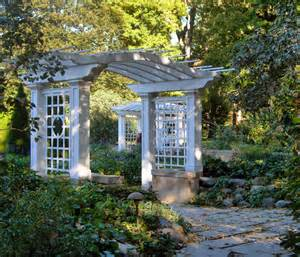 Pergola Or Trellis by Pergolas And Arbors