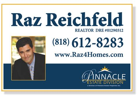 24x36 Real Estate Frame by Independent Real Estate Signs For Sale Open House And