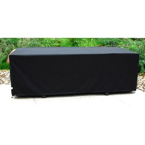 housse protection table jardin rectangulaire housse salon de jardin rectangulaire qaland