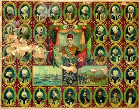 Sultans Of Ottoman Empire by The Sultans Of The Ottoman Empire C 1300 To 1924