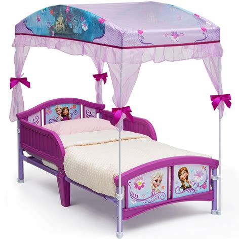 toddler canopy bed disney princess bed canopy for girls disney frozen canopy