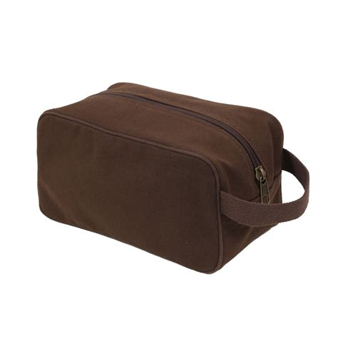 Toiletry Bag us army marines usmc style brown durable canvas travel kit toiletry bag ebay