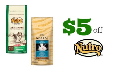 5 week puppy food 5 nutro coupon or cat food southern savers