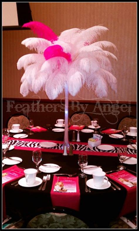 ostrich feather centerpieces rental feathers by rent ostrich feather centerpieces photos lighting decor pictures ohio