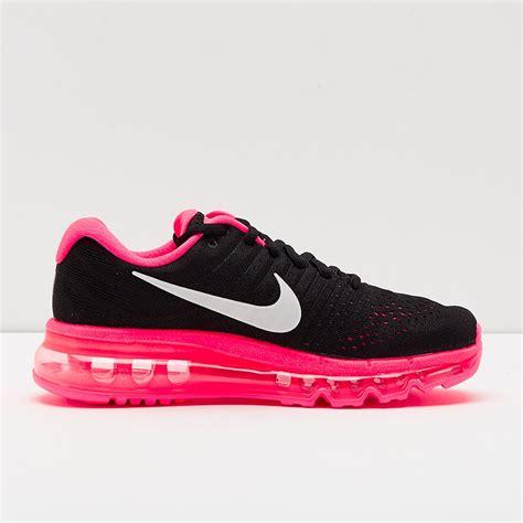 girls shoes nike girls air max  black
