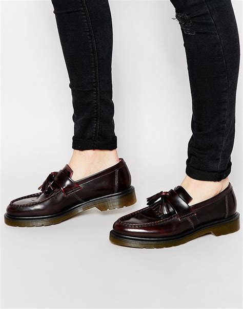 dr martens loafers with tassels dr martens dr martens adrian tassel loafers at asos