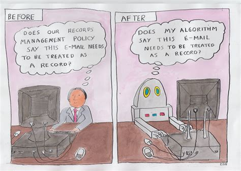 Shared Desks Cartoons And Comic Strips Thinking Records
