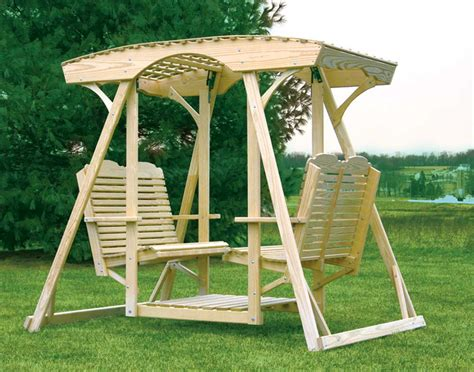 wooden glider swing face to face yard glider swing instructions on how to