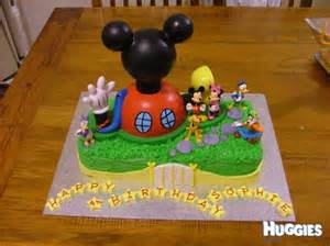 mickey mouse clubhouse huggies birthday cake gallery huggies