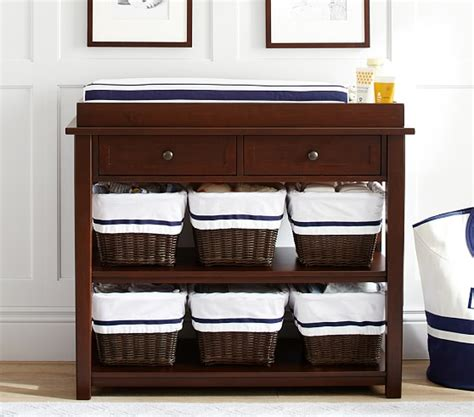 pottery barn changing table universal changing table topper set pottery barn