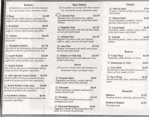 atlas mediterranean kitchen menu urbanspoon zomato - Atlas Mediterranean Kitchen