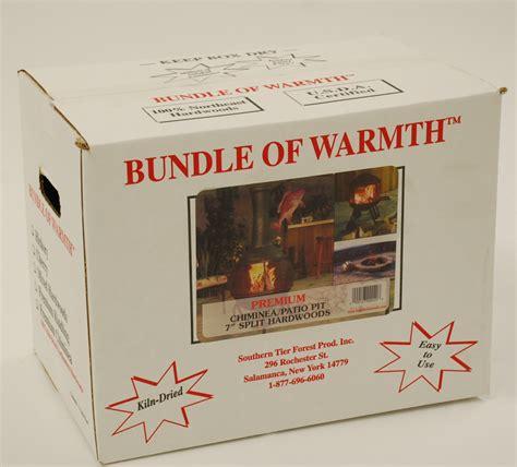 chiminea wood 7 1 2 cuts of usda bundle of warmth