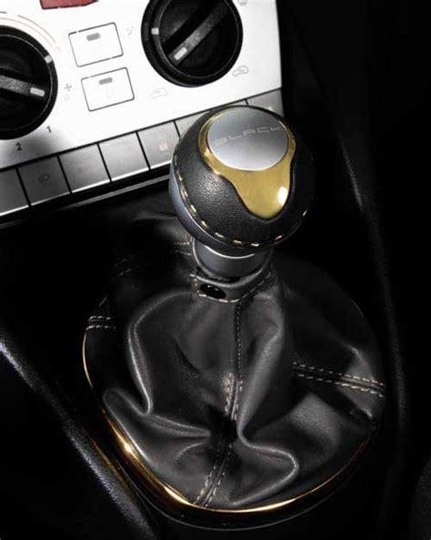 Gold Shift Knob by Gold Knob Stick Shift By Black