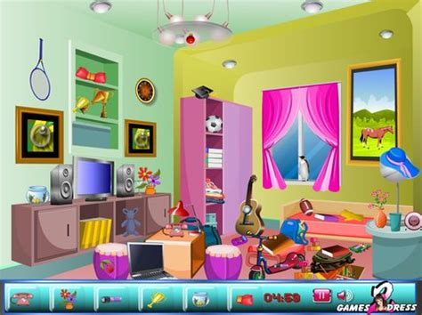 room object free objects study room play now
