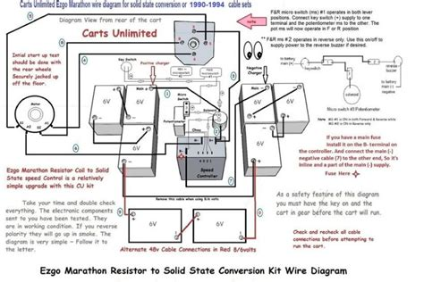 ez go marathon gas wiring diagram wiring diagram