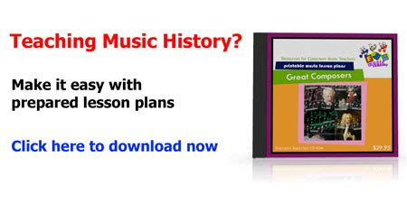 printable music lesson plans great composers new revisions for printable music lesson plans resources