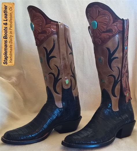 Handmade Cowboy - handmade leather cowboy boots yu boots