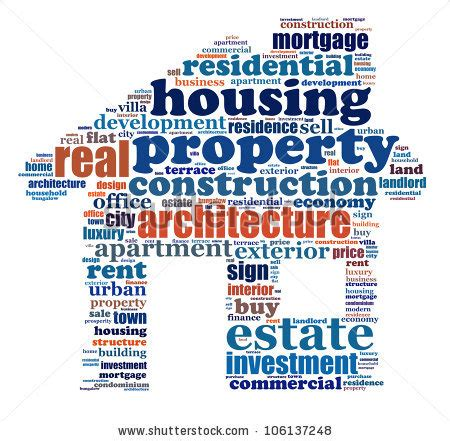 in house synonym property info text graphics arrangement composed in house shape concept word clouds