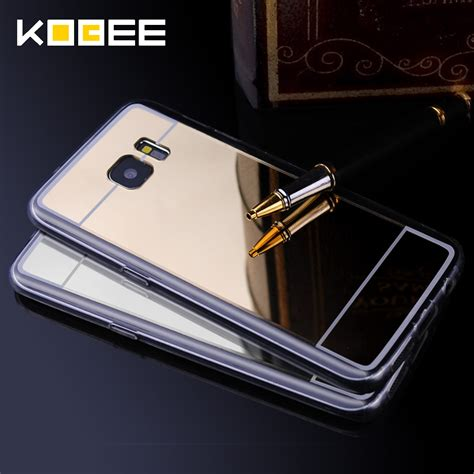 Samsung Galaxy S7 Edge Mirror Alumunium Bumper Casing Back aliexpress buy luxury cover for samsung galaxy s7