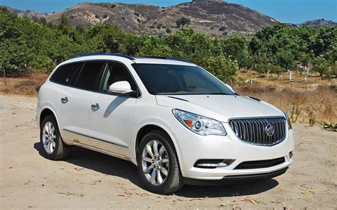 2013 buick enclave test photo gallery motor trend