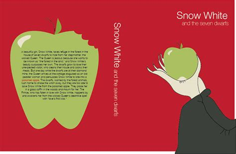 snow white book report snow white book cover on behance