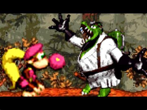 Kaos Kong 03 kong country 3 snes all bosses no damage