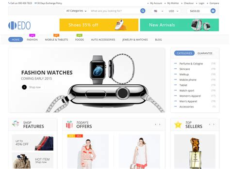 best e commerce site 46 best ecommerce website templates free premium