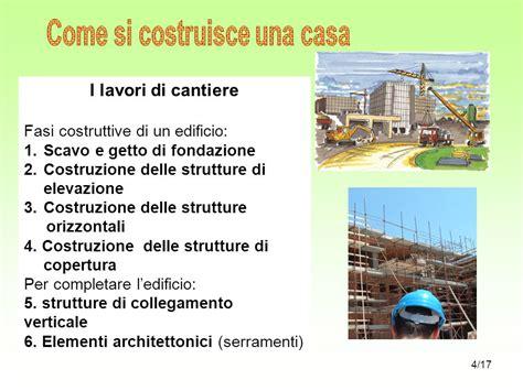 fasi costruzione casa come si costruisce una casa ppt scaricare