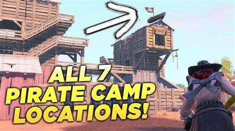 pirate camp locations visit  pirate camps