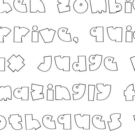 baby doodle font free doodle baby font