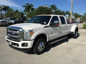 Ford F350 Diesel Dually White 2016 Ford F 350 Dually With Powerstroke 6 7l Diesel