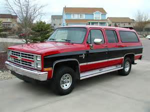 1987 chevrolet 4x4 for sale 1987 chevrolet suburban silverado 4x4 for sale photos