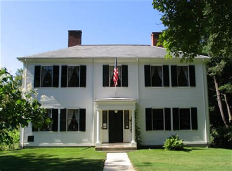 Ralph Waldo Emerson House Massachusetts Conservation A Discover Our Shared Heritage